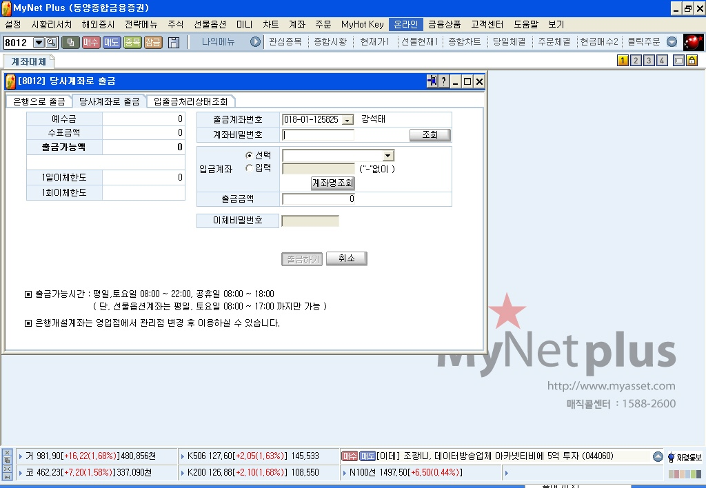 Hts home trading system